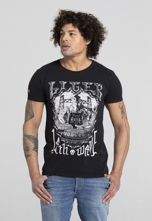 LIMITED TO 360 PIECES - ERYC WHY - ROTTERDAM - Print T-shirt - black