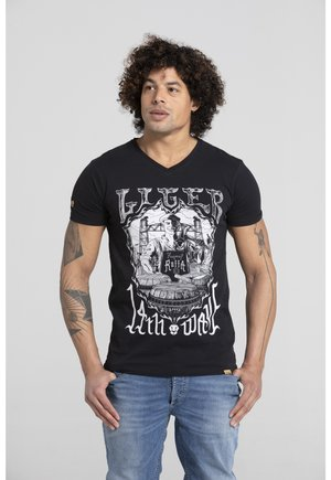 ERYC WHY ROTTERDA - Print T-shirt - black