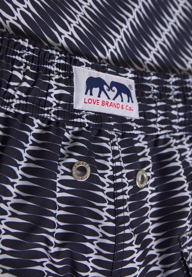 Love Brand STANIEL - Badeshorts - silly sardines