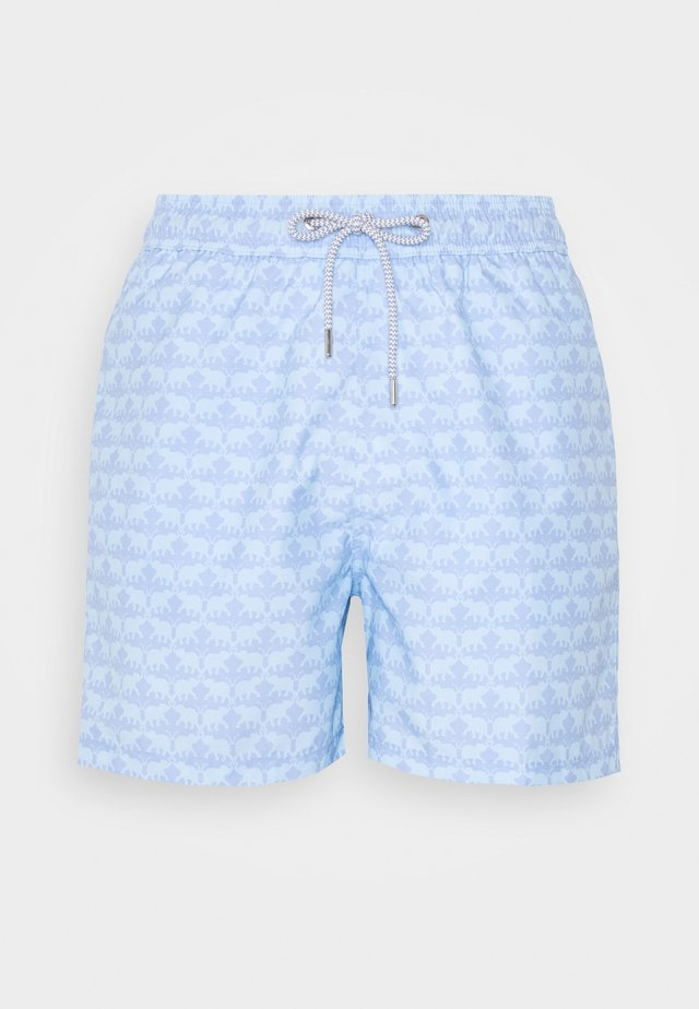 STANIEL - Surfshorts - elephant dance blue