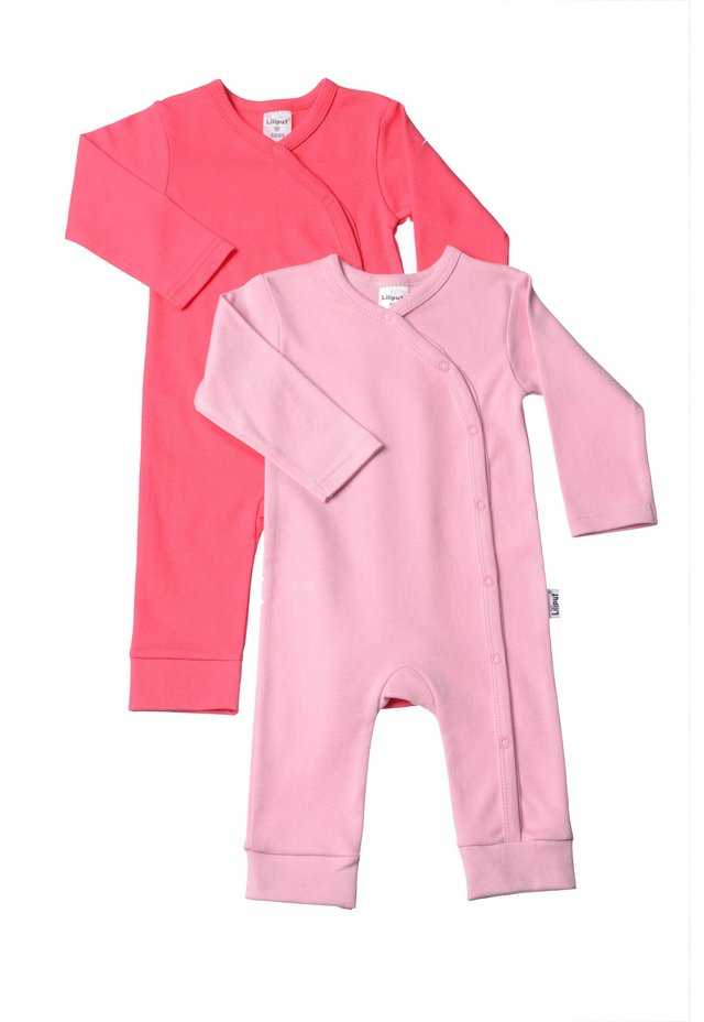 2PACK - Jumpsuit - rosa/himbeere