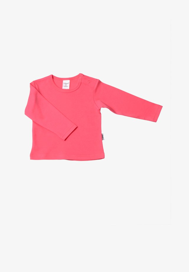 Long sleeved top - himbeere