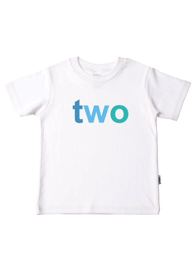 BOYS TWO - Print T-shirt - weiß
