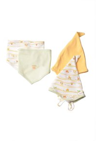 Liliput - 32-TEILIGEN SET - Baby gifts - gestreift,weiss mit motivdruck,hellgrün,gelb - 9