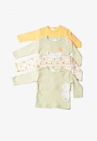 Liliput - 32-TEILIGEN SET - Baby gifts - gestreift,weiss mit motivdruck,hellgrün,gelb - 1