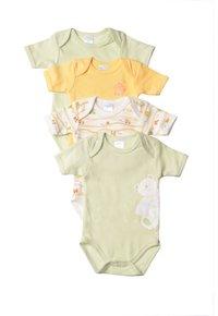 Liliput - 32-TEILIGEN SET - Baby gifts - gestreift,weiss mit motivdruck,hellgrün,gelb - 2