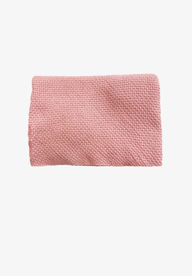 Baby blanket - rosa