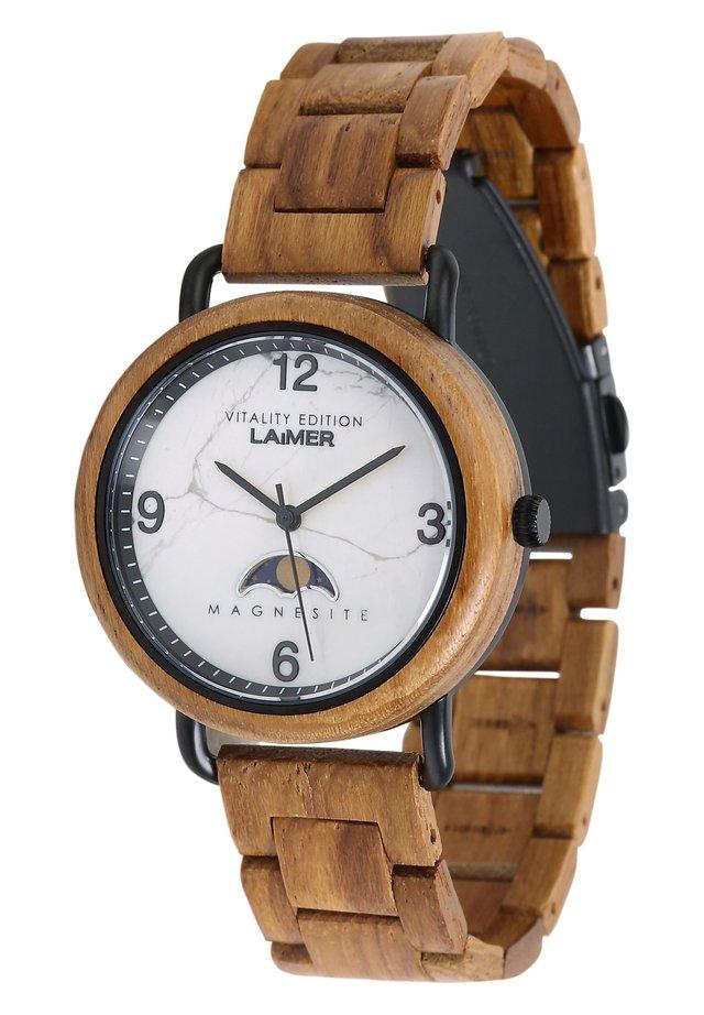 GERLINDE - Watch - ocker
