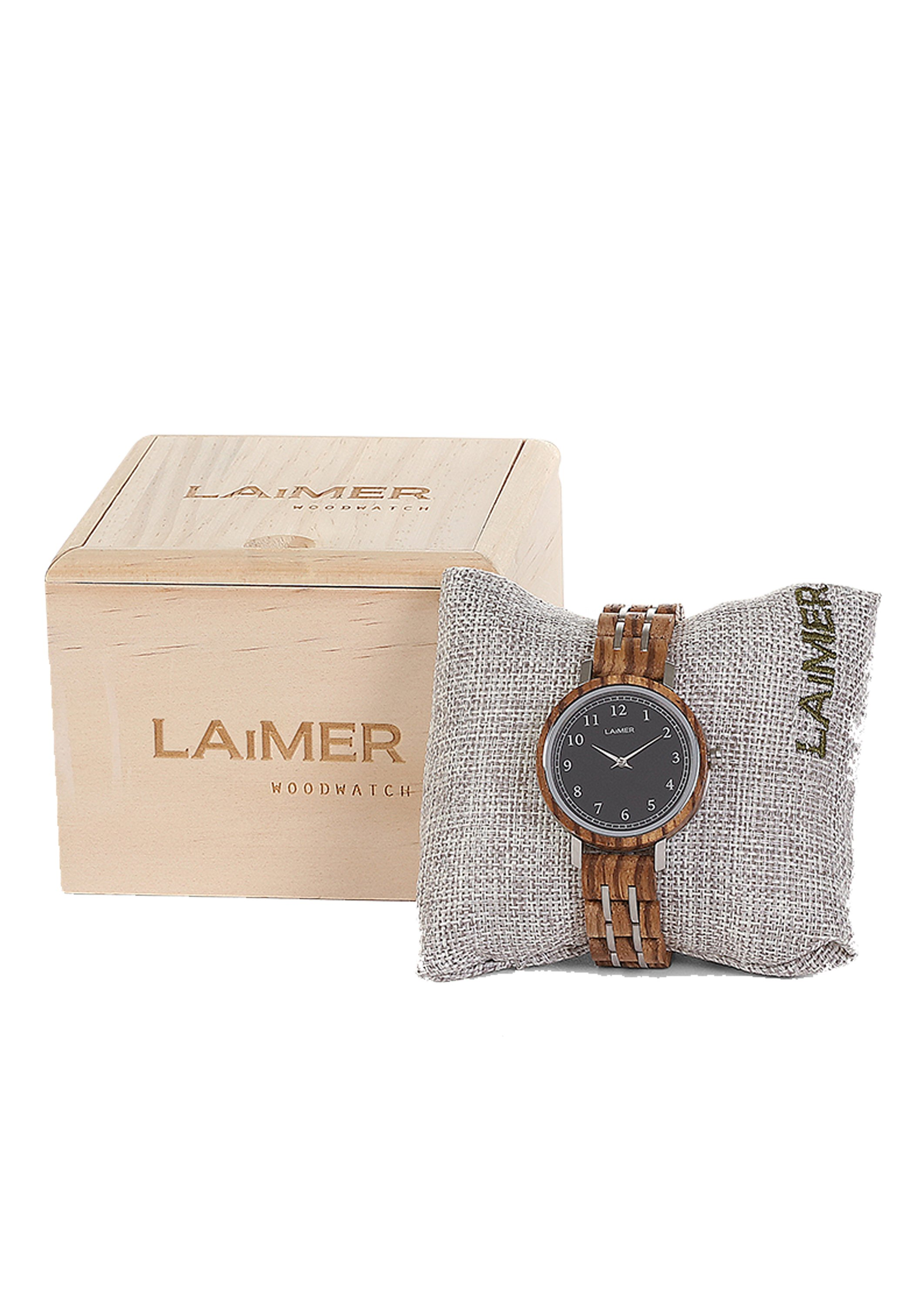 LAIMER Orologio - brown AgVQxFMQ