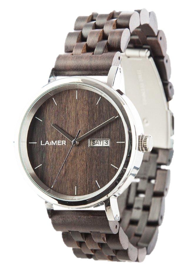 ARMBANDUHR LAIMER HOLZUHR RAÚL - Watch - brown