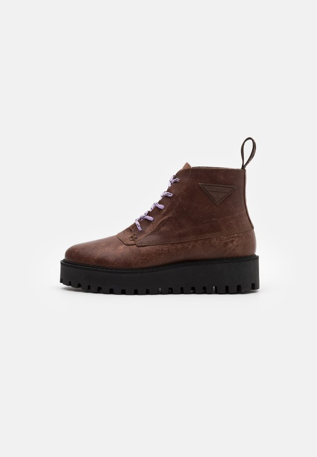 ROCKY - Ankle boots - brown