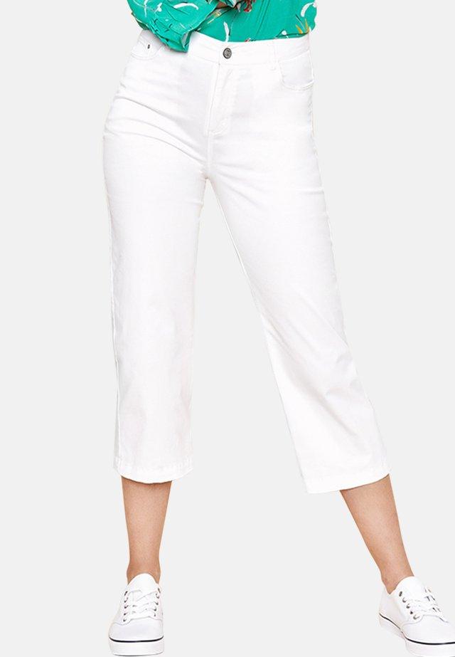 CRAZIER  - Pantalon classique - white