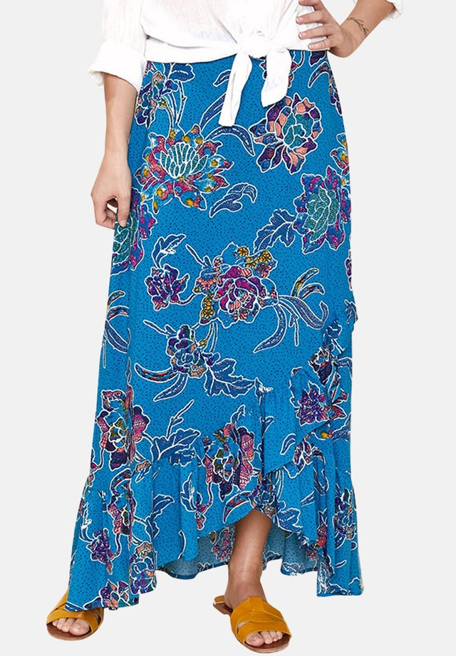 CORNELIA  - Pleated skirt - blue