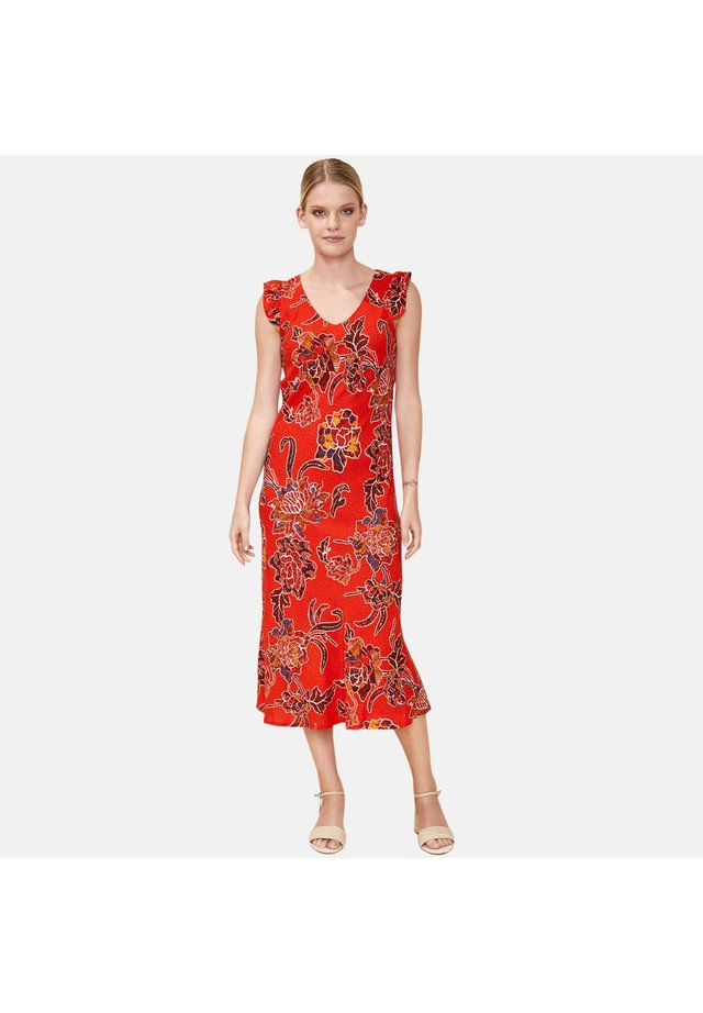 CORIANDRE - Korte jurk - orange