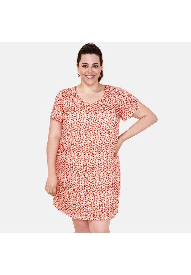 GALIERA  - Robe d'été - orange