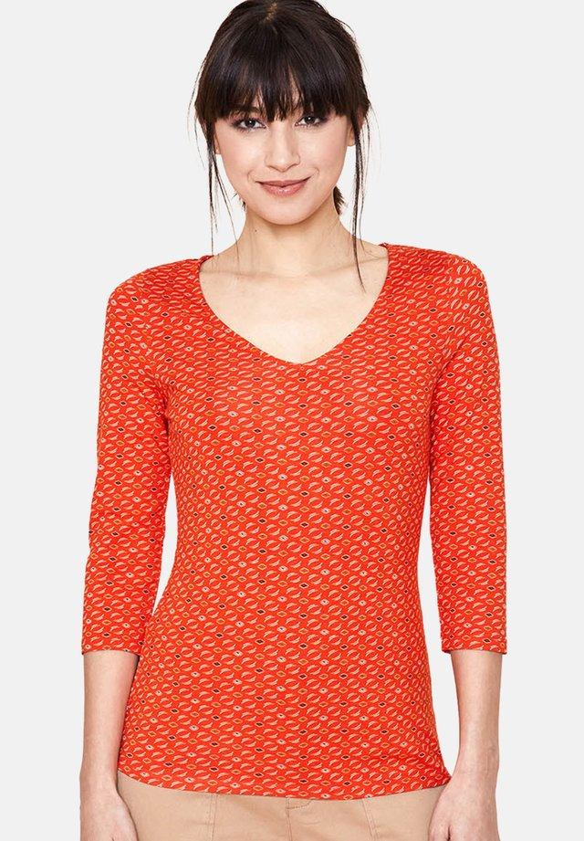REO  - Blouse - orange
