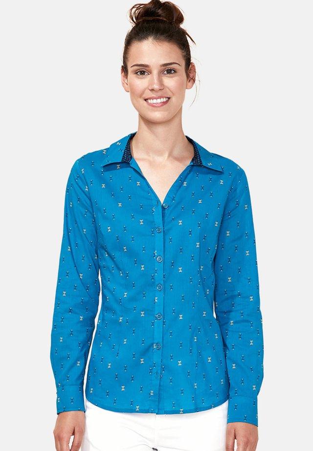 MIRA - Button-down blouse - blue