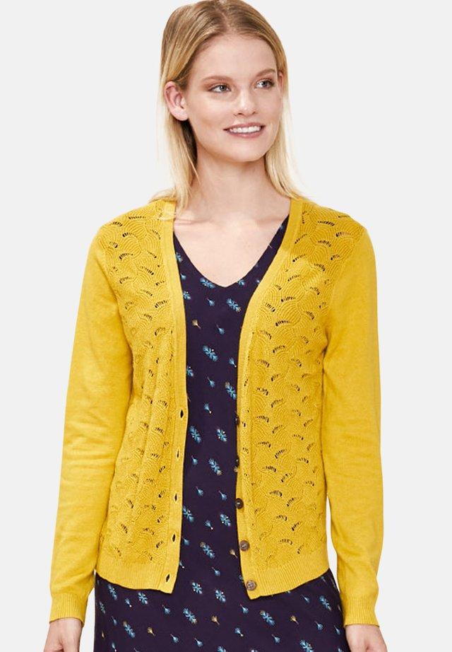 XONIA - Cardigan - yellow