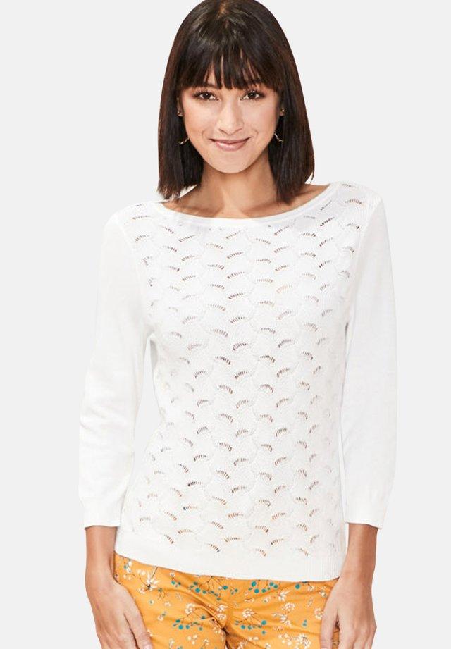 SILENE - Jumper - white