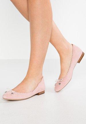 GLENNIE - Ballerines - pearl pink