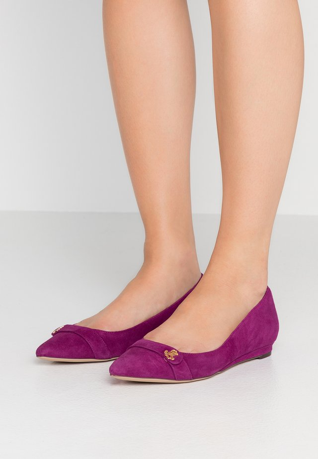 AMINAH - Ballerina's - eggplant