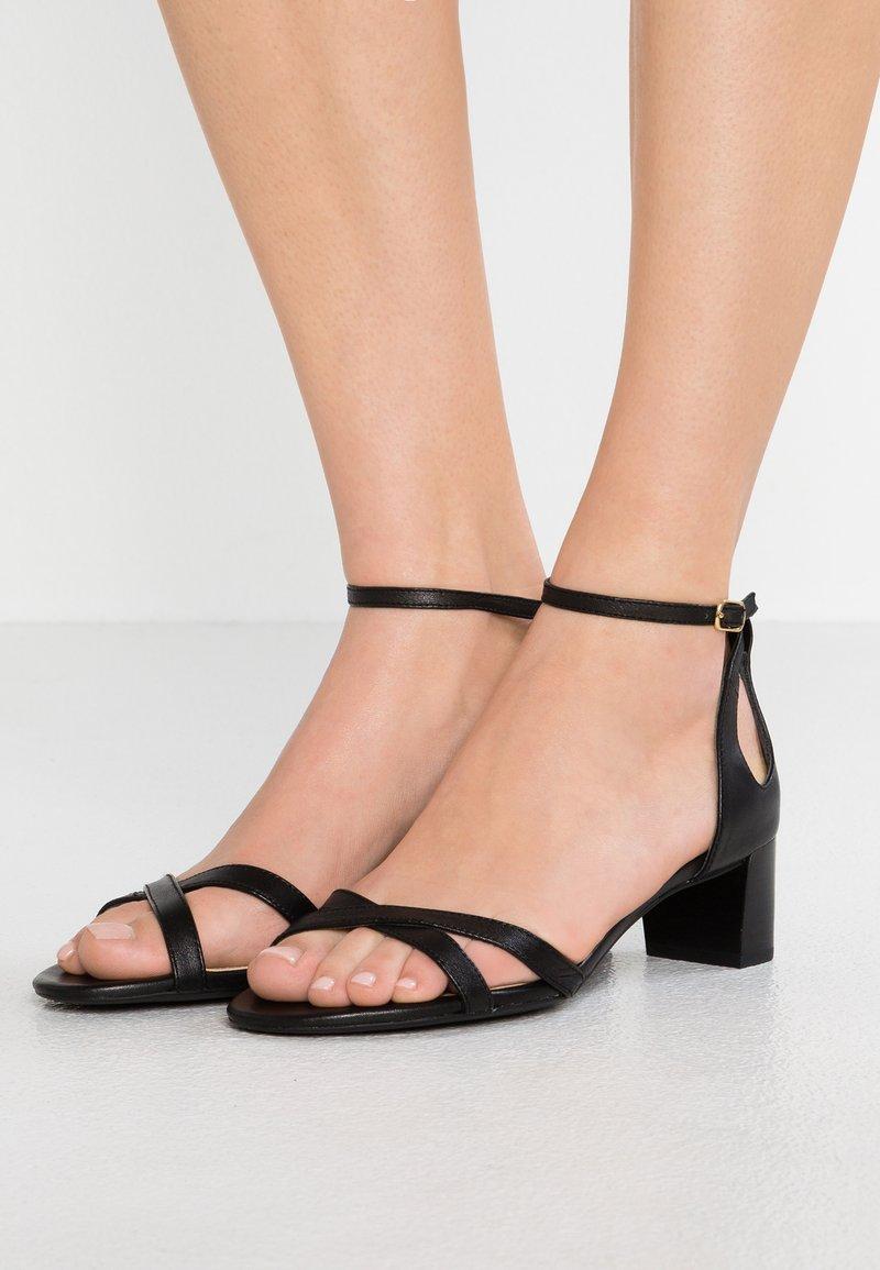 Lauren Ralph Lauren - FOLLY - Sandales - black