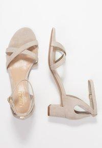 Lauren Ralph Lauren - FOLLY - Sandaalit nilkkaremmillä - alpaca - 3