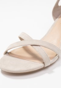 Lauren Ralph Lauren - FOLLY - Sandaalit nilkkaremmillä - alpaca - 2