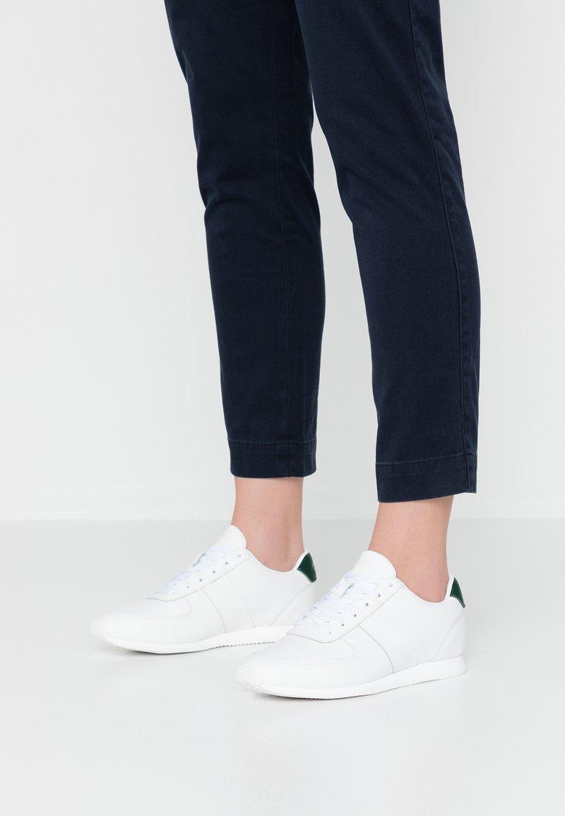 Lauren Ralph Lauren - CATE - Sneakers basse - white/green