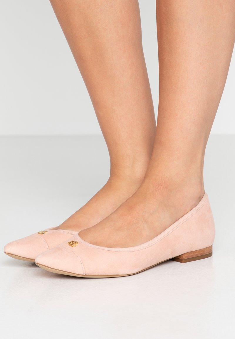 Lauren Ralph Lauren - HALENA FLATS CASUAL - Ballet pumps - light pink