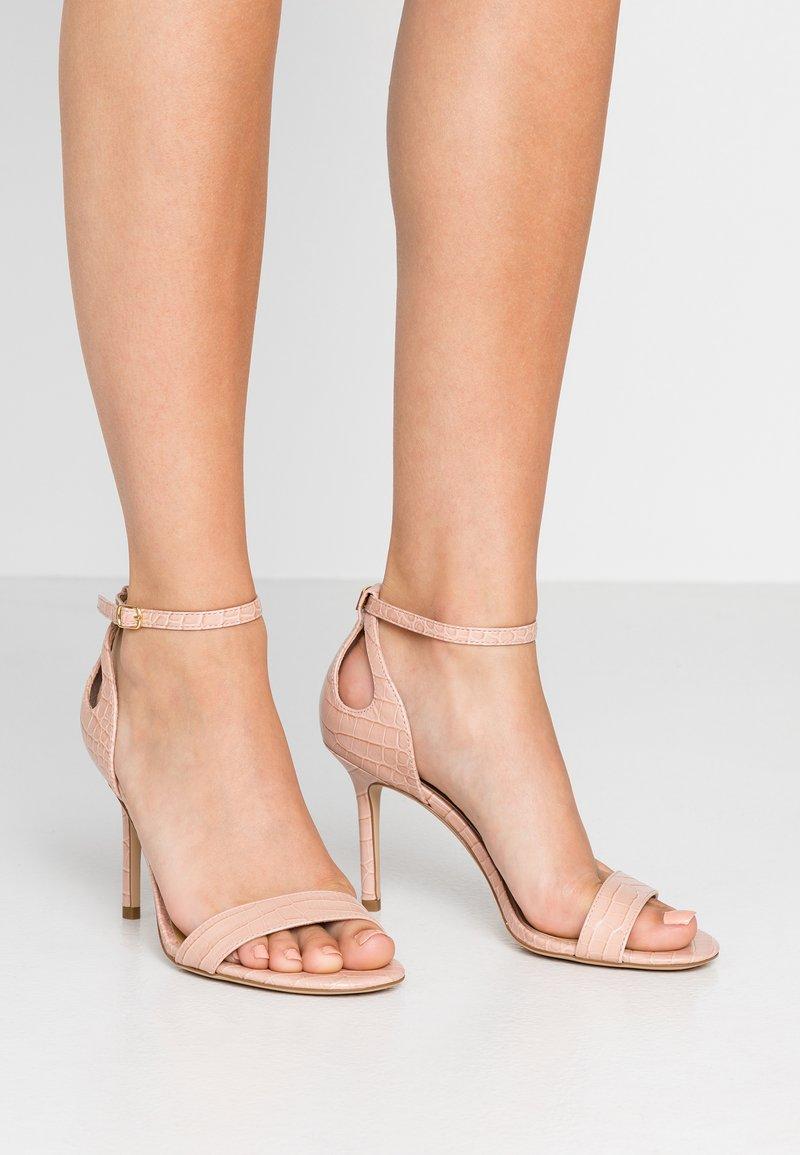 Lauren Ralph Lauren - SOFT MINI GRETCHIN - High heeled sandals - light pink