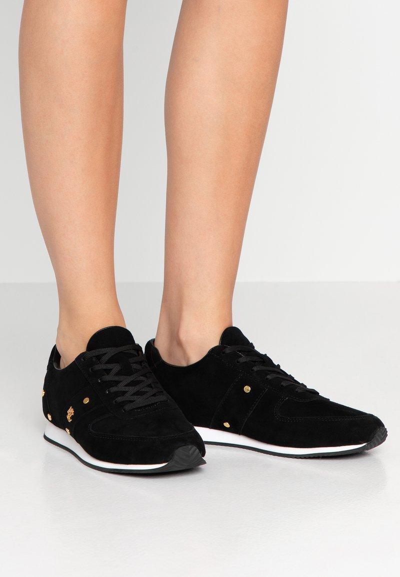 Lauren Ralph Lauren - CANONBURY - Sneaker low - black