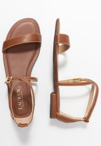 Lauren Ralph Lauren - BURNISHED  - Sandales - deep saddle tan - 3