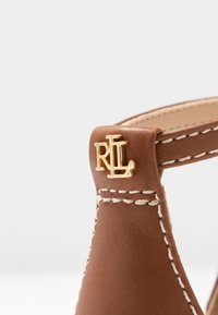 Lauren Ralph Lauren - BURNISHED  - Sandales - deep saddle tan - 2