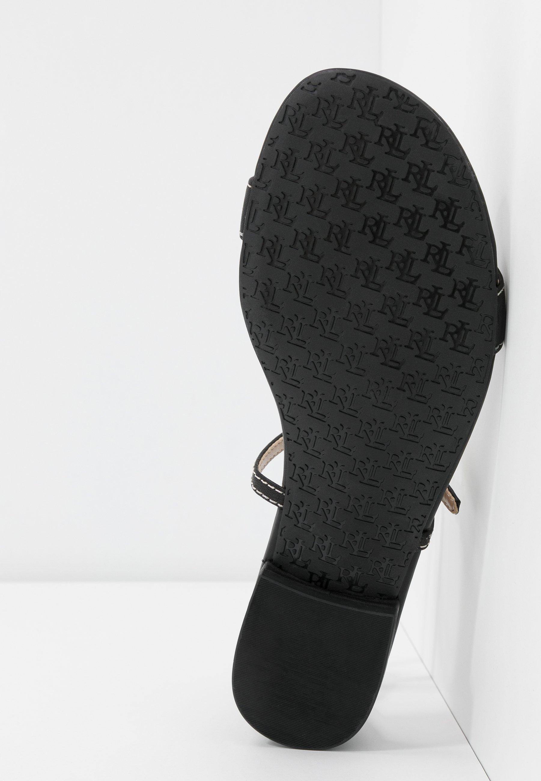 Lauren Ralph Lauren BURNISHED  - Sandals - black