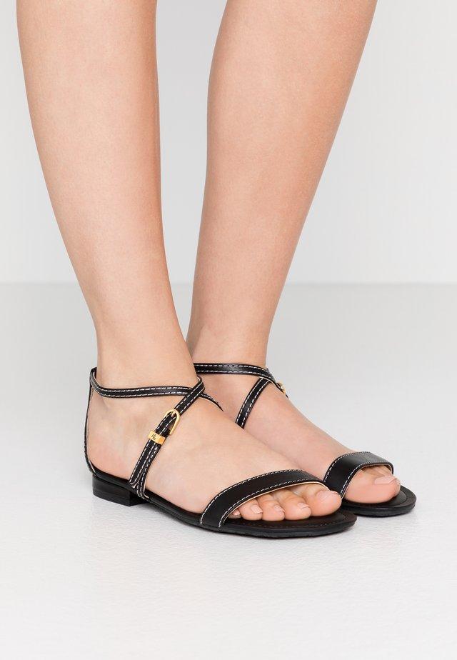 BURNISHED  - Sandaler - black