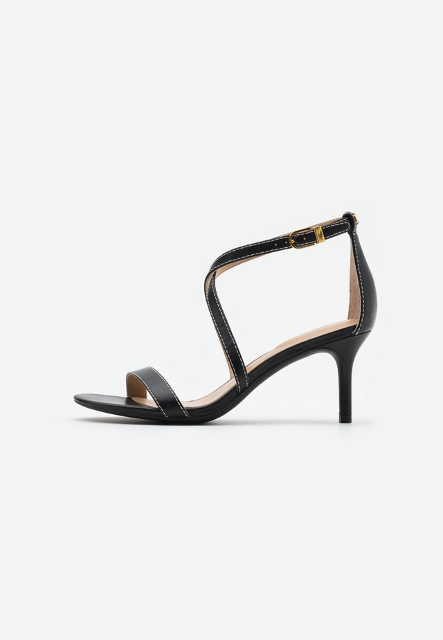LEATON DRESS - Sandalen - black