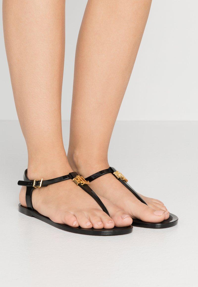 Lauren Ralph Lauren - ASHTYN - Flip Flops - black