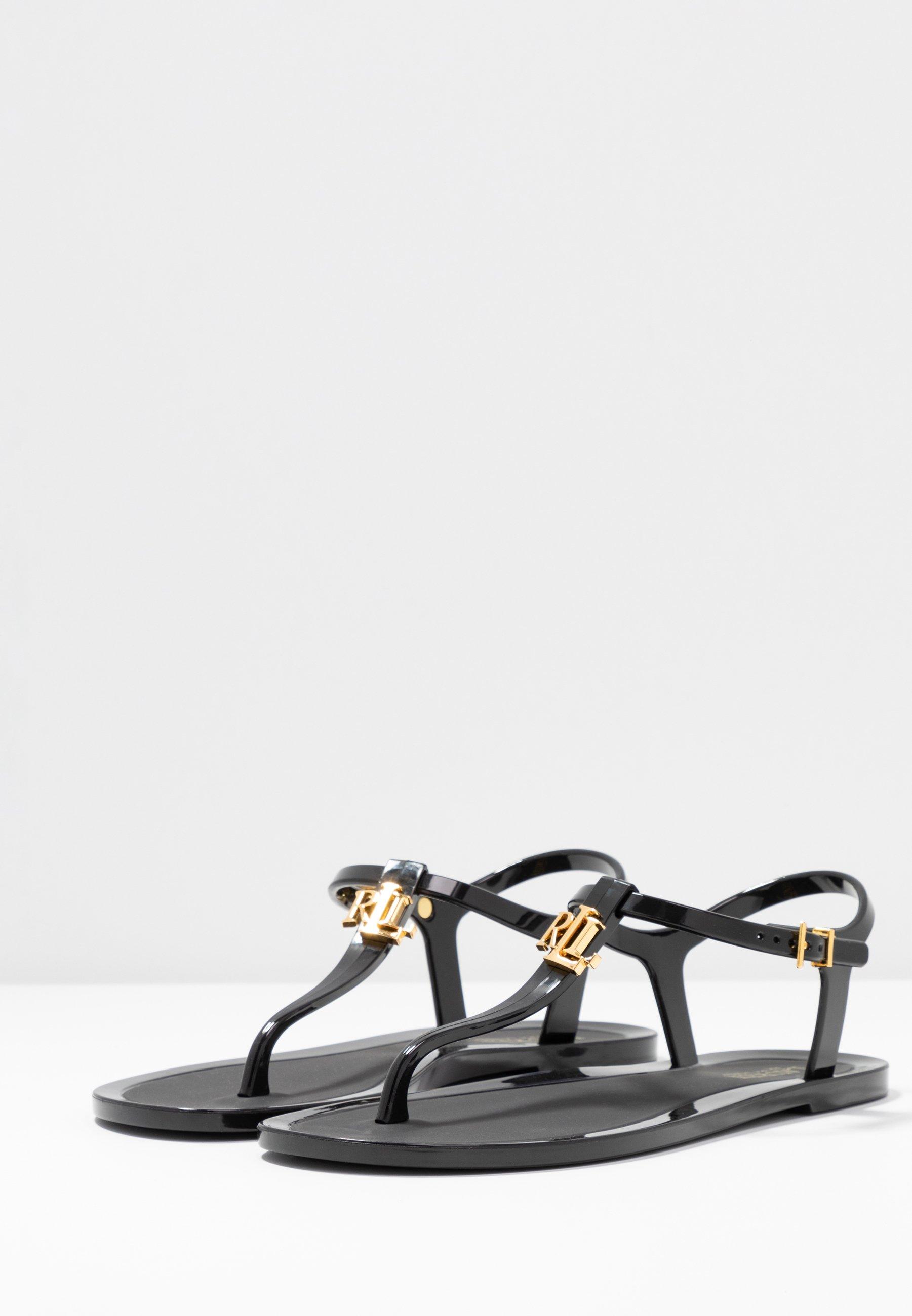 Lauren Ralph Lauren ASHTYN - T-bar sandals - black
