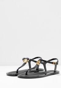 Lauren Ralph Lauren - ASHTYN - Flip Flops - black - 4