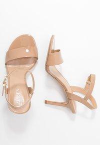 Lauren Ralph Lauren - GWEN - High heeled sandals - nude - 3