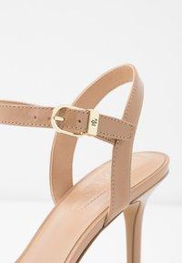 Lauren Ralph Lauren - GWEN - High heeled sandals - nude - 2