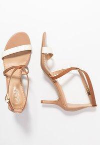 Lauren Ralph Lauren - SUPER SOFT - Sandals - nude/vanilla/deep - 3
