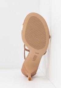 Lauren Ralph Lauren - SUPER SOFT - Sandals - nude/vanilla/deep - 6