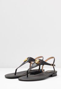 Lauren Ralph Lauren - BURNISHED ELLINGTON - Varvassandaalit - black - 4
