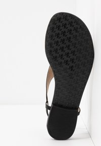Lauren Ralph Lauren - BURNISHED ELLINGTON - Varvassandaalit - black - 6