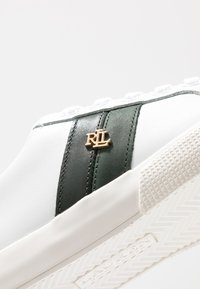 Lauren Ralph Lauren - JANSON II - Matalavartiset tennarit - white/green - 2