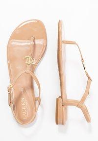 Lauren Ralph Lauren - ELMSTEAD - Sandály s odděleným palcem - nude - 3
