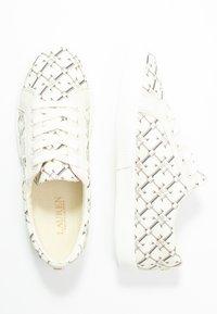 Lauren Ralph Lauren - PRINTED JAYCEE - Sneakersy niskie - vanilla heritage - 3