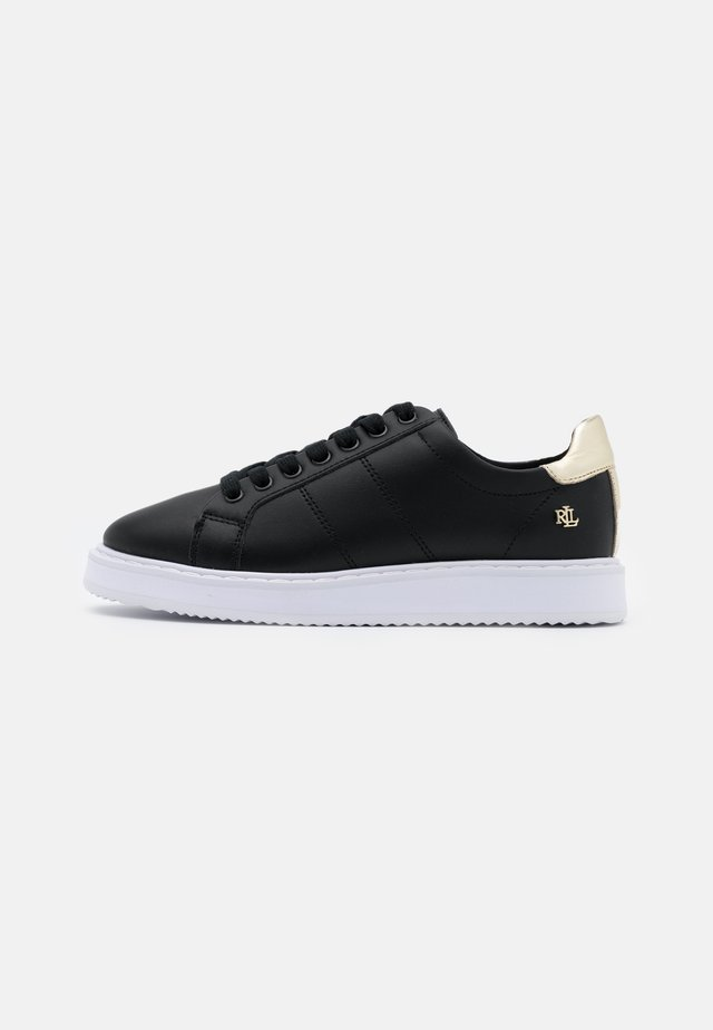 ACTION ANGELINE - Trainers - black/pale gold